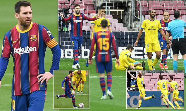 Barcelona 1-1 Cadiz: LaLiga giants suffer blow in the title race