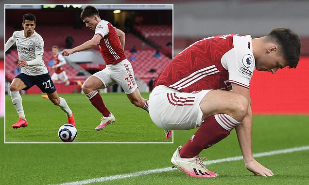 Kieran Tierney admits he was 'knackered' after first start in a month