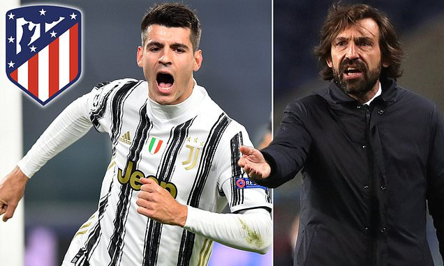 Juventus 'hoping to extend Morata's loan from Atletico Madrid'