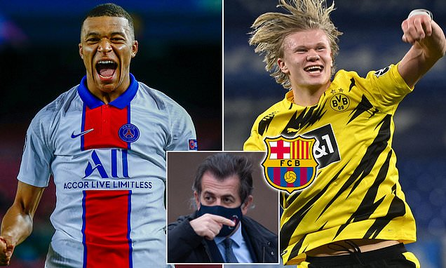 Barca deal for Mbappe or Haaland is 'possible', says Toni Freixa