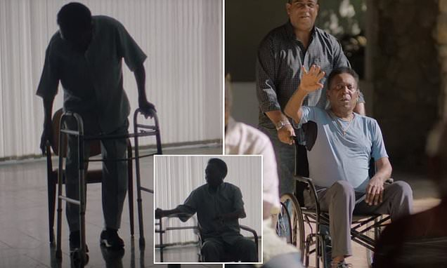 Pele needs a zimmer frame and wheelchair in new documentary