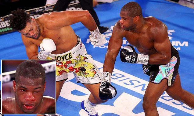 Daniel Dubois set to make boxing comeback in May after Joe Joyce loss