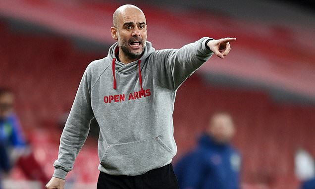 Guardiola claims 'unprofessional' stars LEAK team news to rivals