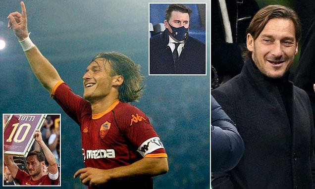 Roma legend Francesco Totti leaves door open to emotional return