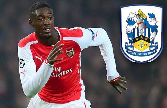 Arsenal flop Sanogo seals move to Huddersfield until end of the season