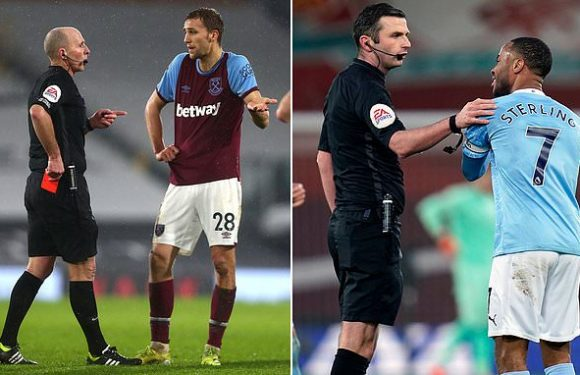 Premier League referees paying for their mistakes with bonuses hit