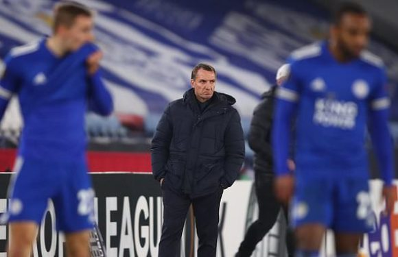 Brendan Rodgers accepts blame for Leicester's tame Europa League exit