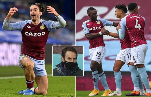Grealish could make return from injury against Sheffield United