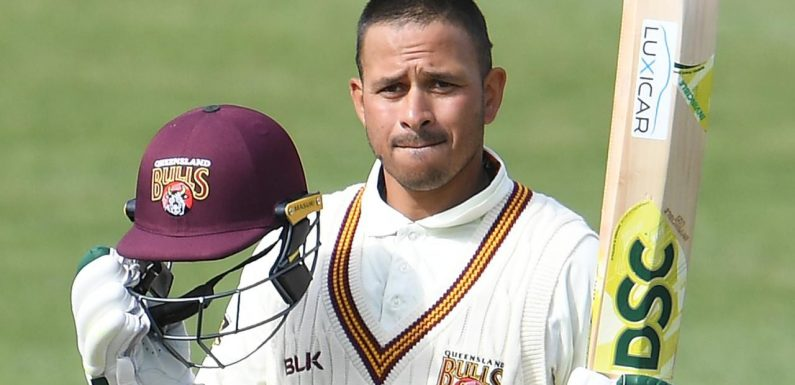 Test reject Usman Khawaja's century sends cricket selectors a reminder of what he's made of