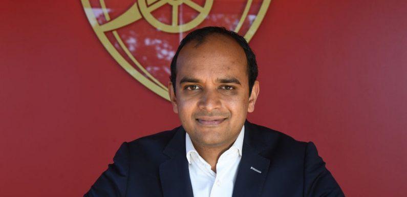 Racist abuse towards players is football's 'biggest problem', says Arsenal chief Vinai Venkatesham