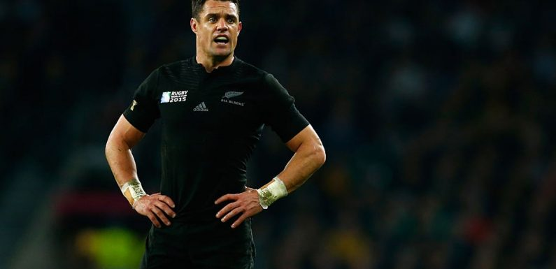 All Blacks legend Dan Carter announces retirement from professional rugby