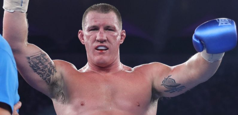 Paul Gallen's to fight former champ Lucas Browne on April 21