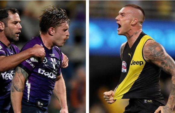 AFL, NRL announce game-changing new Kayo partnership