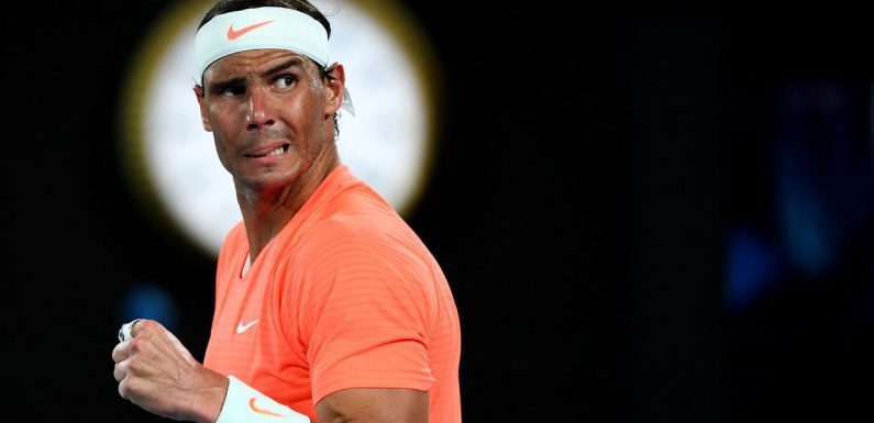 Nadal all class after Open defeat, rejects Djokovic's complaints
