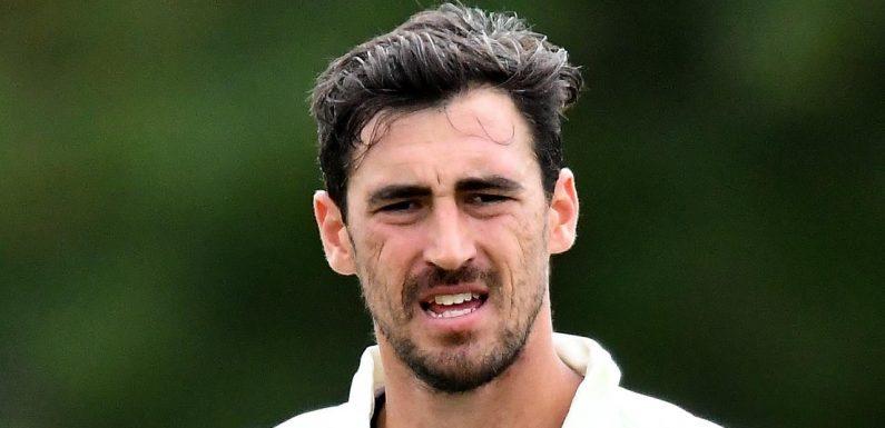 Starc embarrassed by forgotten Test star