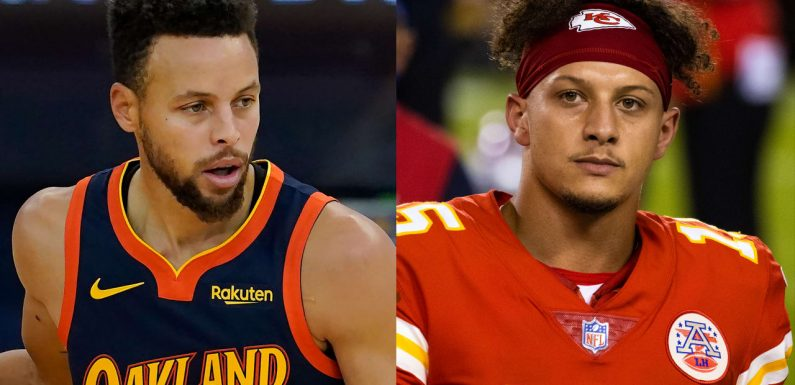 NBA standout Steph Curry on Chiefs' Patrick Mahomes: I 'see a lot of myself in him'