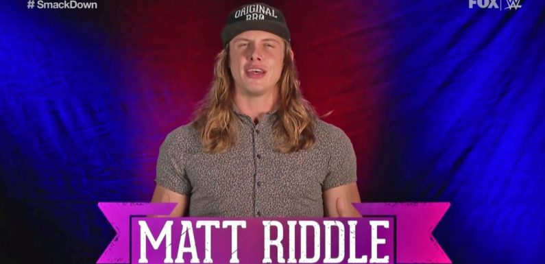 Is WWE putting a title on Matt Riddle ignorance, direct retaliation, or something in between?