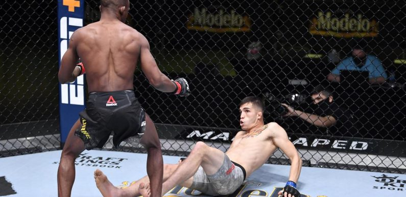 UFC star produces lightning finish in 26-second KO
