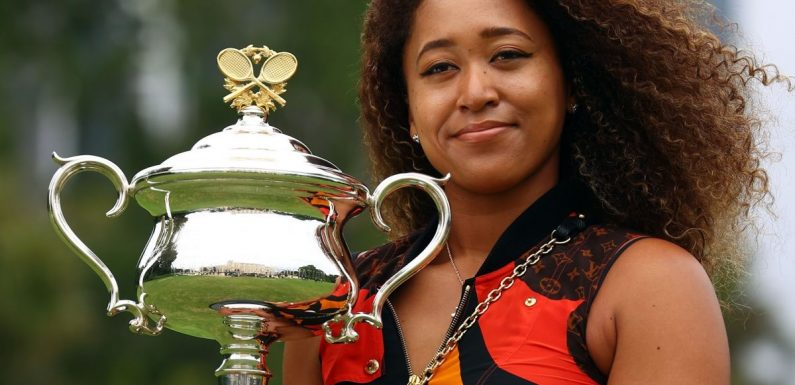 Naomi Osaka is one of the swaggiest athletes we've ever witnessed