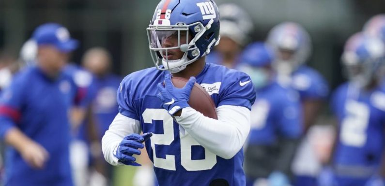 Saquon Barkley: ACL tear 'probably the weakest moment of my life'