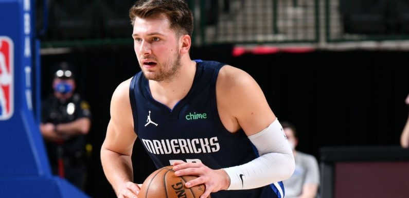 Rising to Steph's challenge, Luka Doncic puts on a show in Mavericks' win