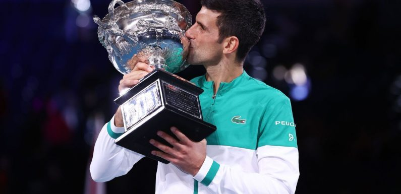 This Australian Open was just what Novak Djokovic needed