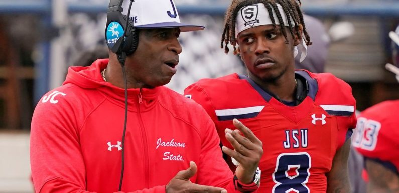 Deion Sanders wins in Jackson St. coaching debut