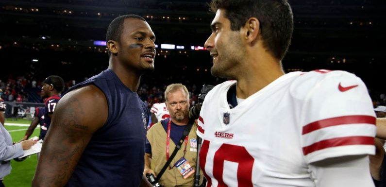 Which QB domino is next to fall? The latest on the Bears, Texans, 49ers and more