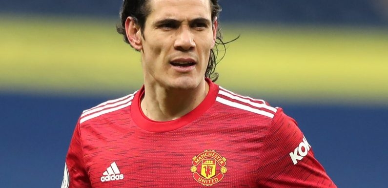 Manchester United to hold talks with Edinson Cavani over striker's future, says Ole Gunnar Solskjaer