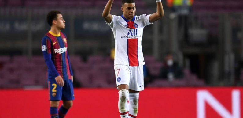 Barcelona vs Paris Saint-Germain result: Five things we learned as Kylian Mbappe scores Champions League hat-trick