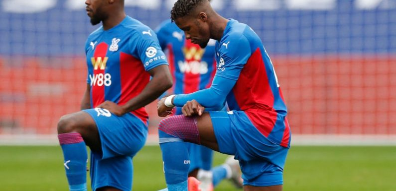 Wilfried Zaha: 'Taking the knee is degrading, we should stand tall'