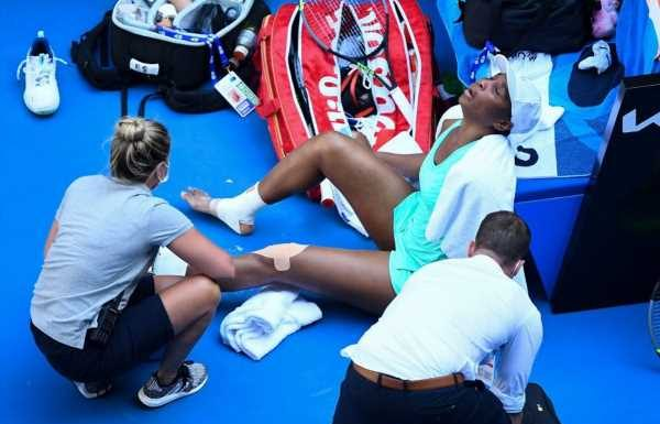 Venus Williams suffers painful second-round exit from Australian Open