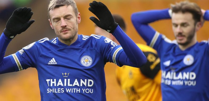 Wolves and Leicester share the points in goalless Premier League draw