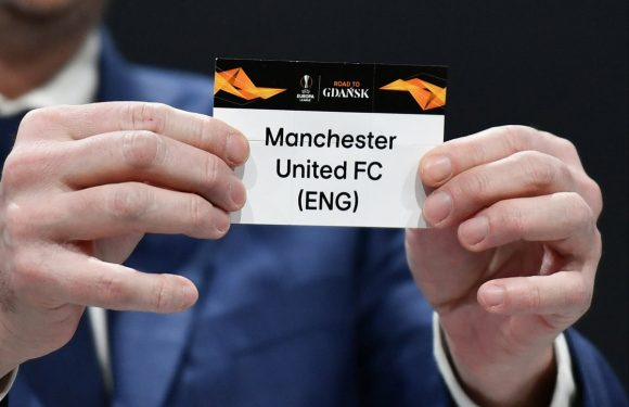 Europa League draw LIVE: Manchester United, Arsenal and Tottenham learn last-16 opponents