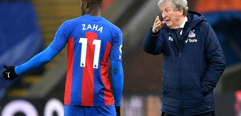 Crystal Palace desperate for Wilfried Zaha to return, Roy Hodgson admits