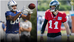 Colts' Michael Pittman not giving No. 11 jersey number to Carson Wentz