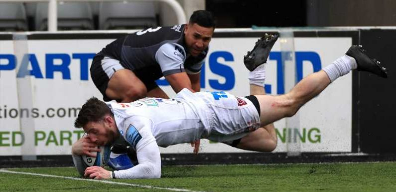 Gallagher Premiership: Exeter Chiefs clip Newcastle Falcons' wings in 15-9 win