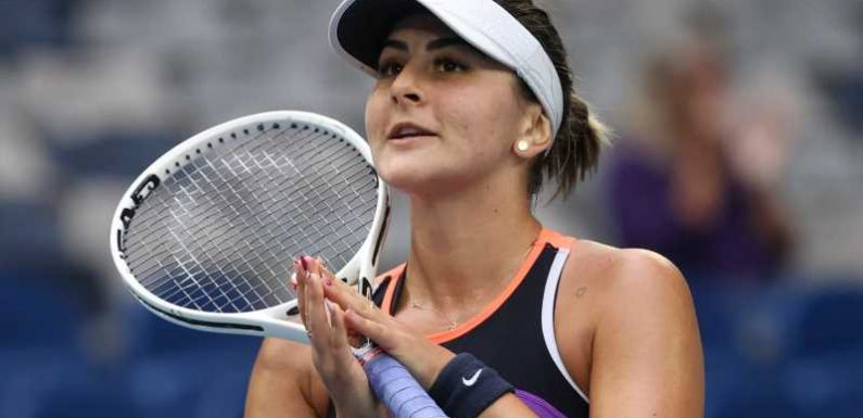 Australian Open: Bianca Andreescu back winning at a Grand Slam after tortuous spell out of tennis