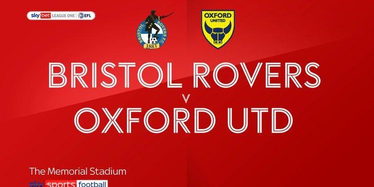 Bristol Rovers 2-0 Oxford: Elliot Lee on target at the Memorial Stadium