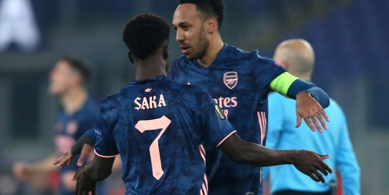 Benfica 1-1 Arsenal: Bukayo Saka's quick equaliser sees Gunners score away goal in Europa League last-32 tie