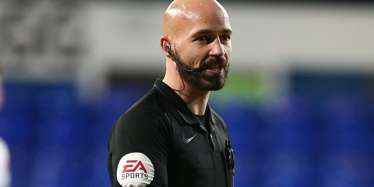 Referee Darren Drysdale charged by FA with improper conduct after squaring up to Ipswich's Alan Judge