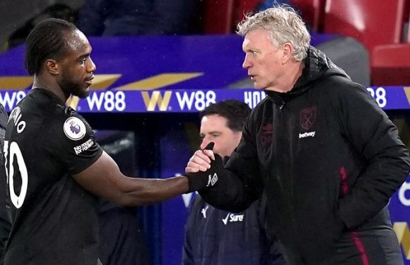 Michail Antonio should choose to play for England over Jamaica, says West Ham manager David Moyes