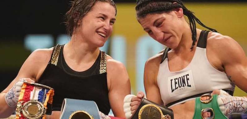 Katie Taylor's rival Miriam Gutierrez on 'freedom from the pent-up rage' of domestic abuse trauma