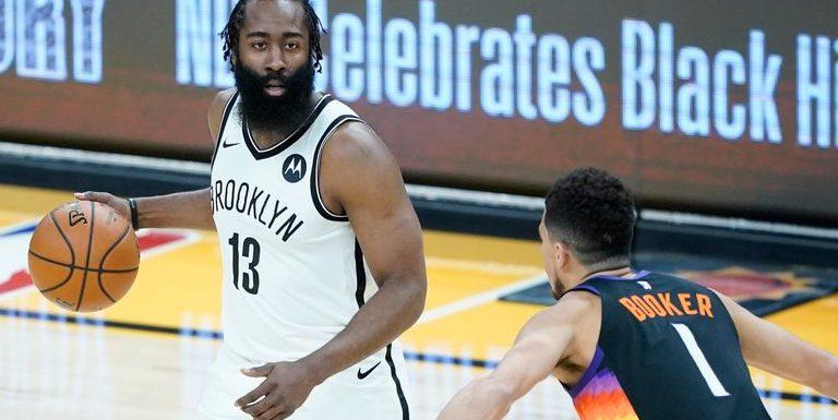 James Harden leads Brooklyn Nets from 24 down to stun Phoenix Suns