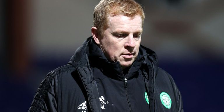 Neil Lennon sorry for letting Celtic fans down after 1-0 loss to Ross County on Sunday