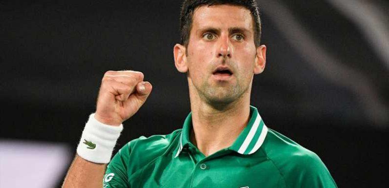 Australian Open: Novak Djokovic makes it through to semi-finals after four-set win against Alexander Zverev