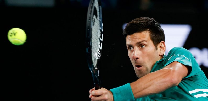 Australian Open: Novak Djokovic flies into second round as Dominic Thiem and Alexander Zverev also progress