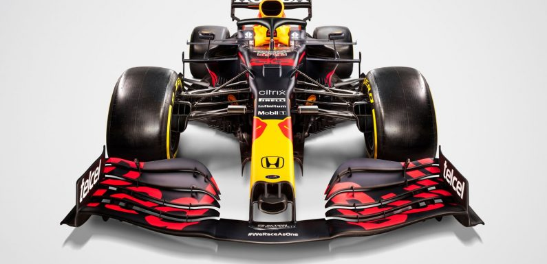 Red Bull launch 2021 car, the RB16B, as team bid to end Mercedes' Formula 1 title streak