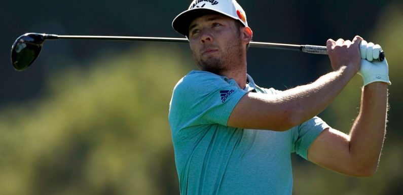 Sam Burns moves five clear in Genesis Invitational with Dustin Johnson in share of second place at halfway