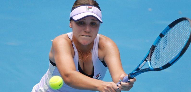 Sofia Kenin: Defending Australian Open champion has appendix removed